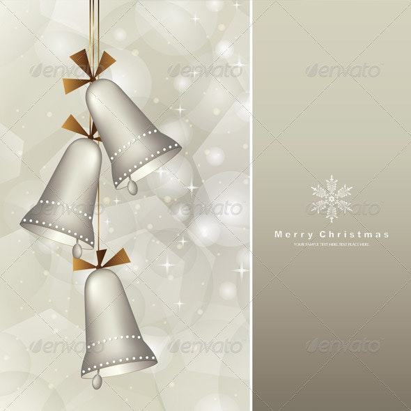 Christmas Background With Baubles  - Christmas Seasons/Holidays