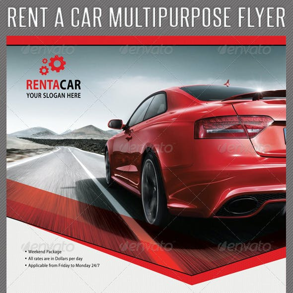 Rent A Car Corporate Flyer 04