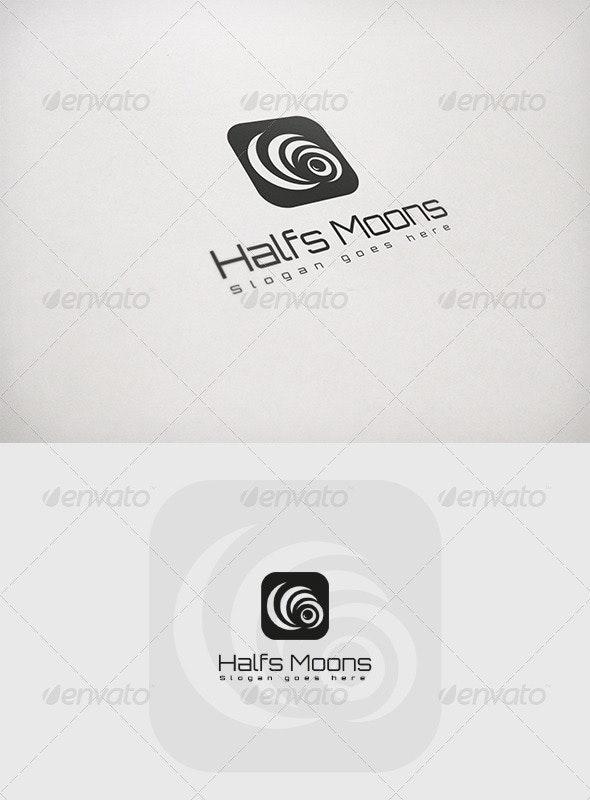 Halfs Moons - Abstract Logo Templates