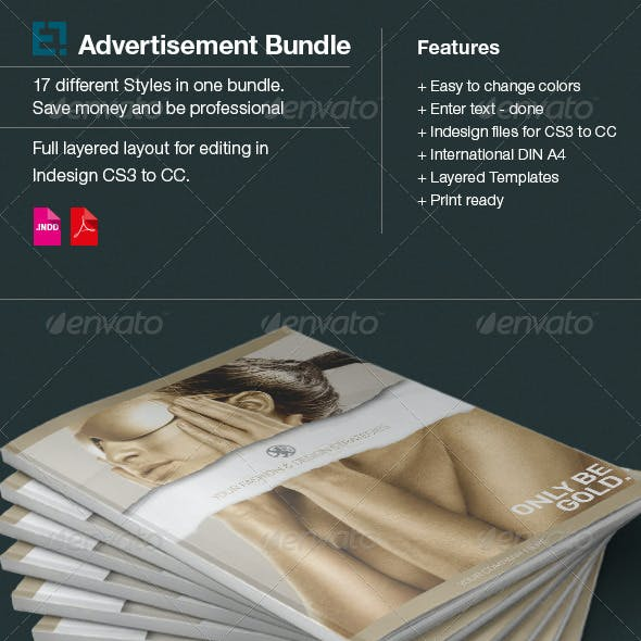17 Layouts Advertisments Bundle