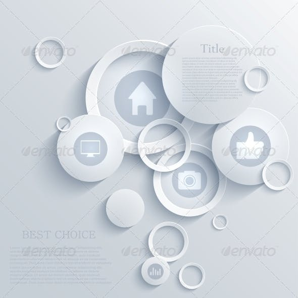 Vector Infographic Background Design