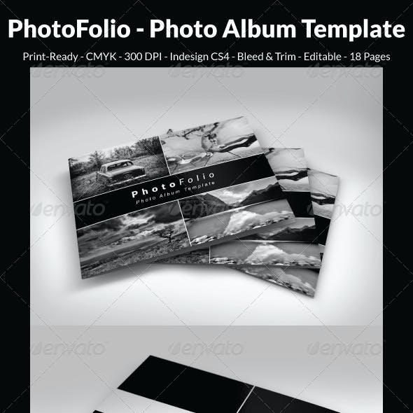 PhotoFolio - Photo Album Template