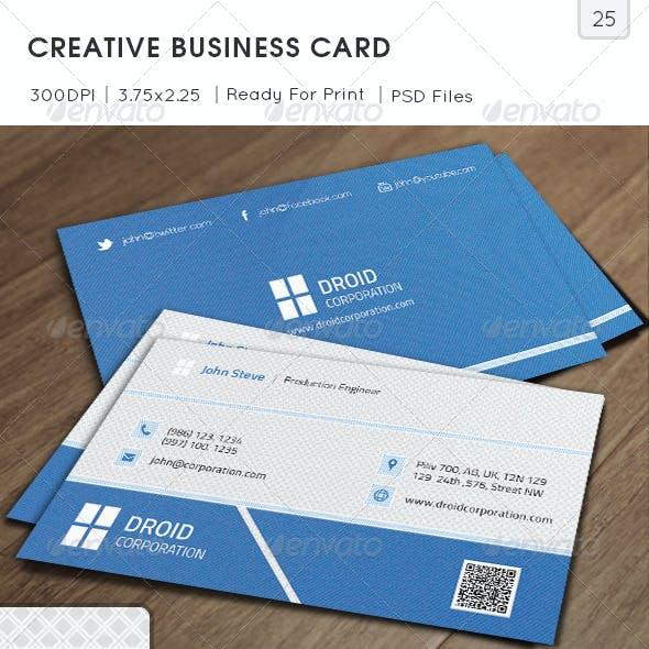 Creative Business Card v25