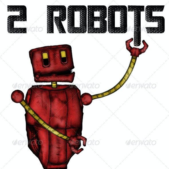 Robots Pack PSD