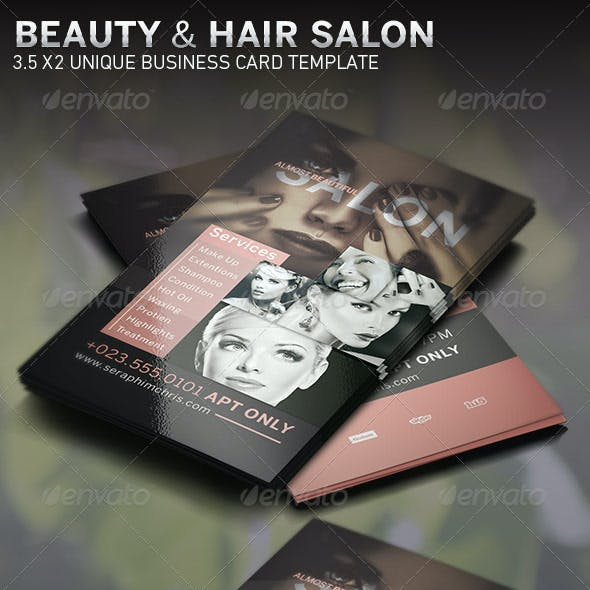 Beauty and Hair Salon BC Template