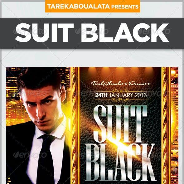 Suit Black Flyer