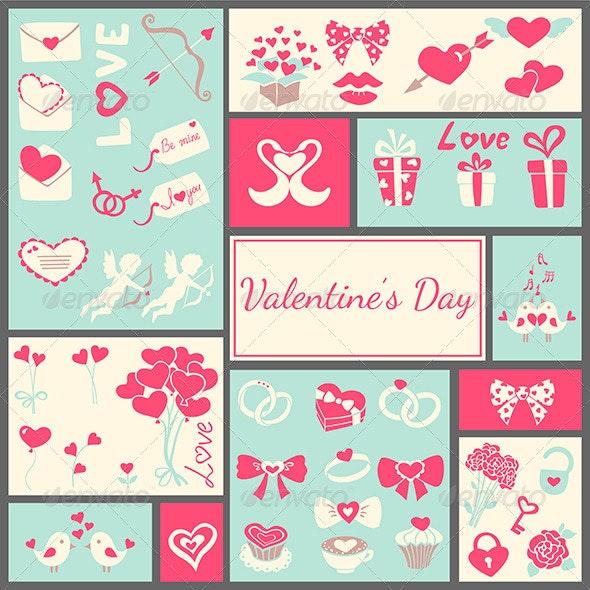 Valentine's Card - Backgrounds Decorative