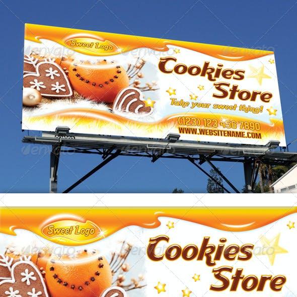 Cookies Shop Outdoor Banner 11