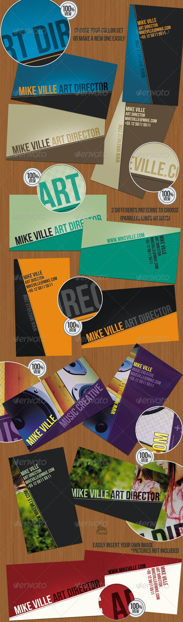 Creative Angle - Business Cards - Creative Business Cards