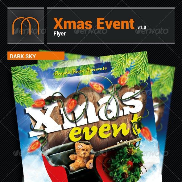 Xmas Event - Flyer