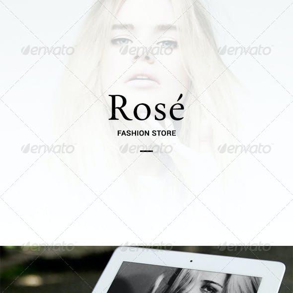 Fashion Store App UI - Rosé