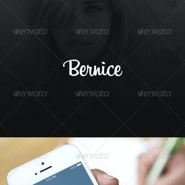 Photo-Sharing App UI - Bernice