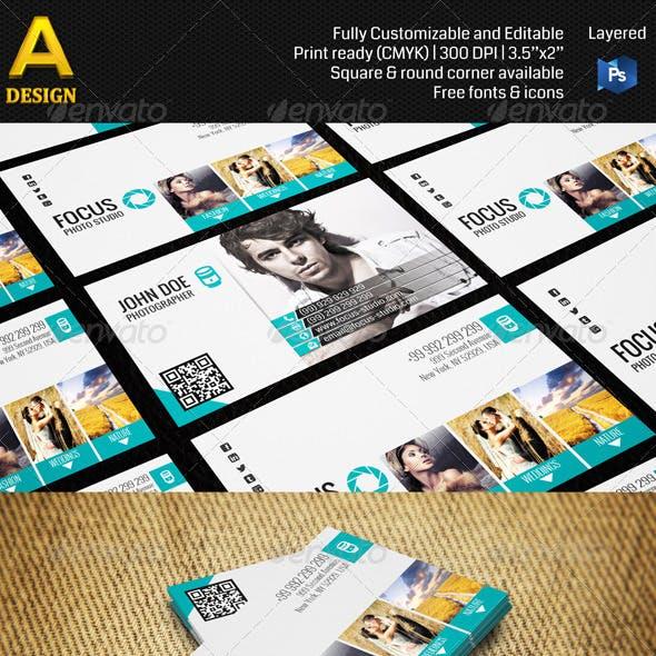 Photo Studio Business Card AN0113
