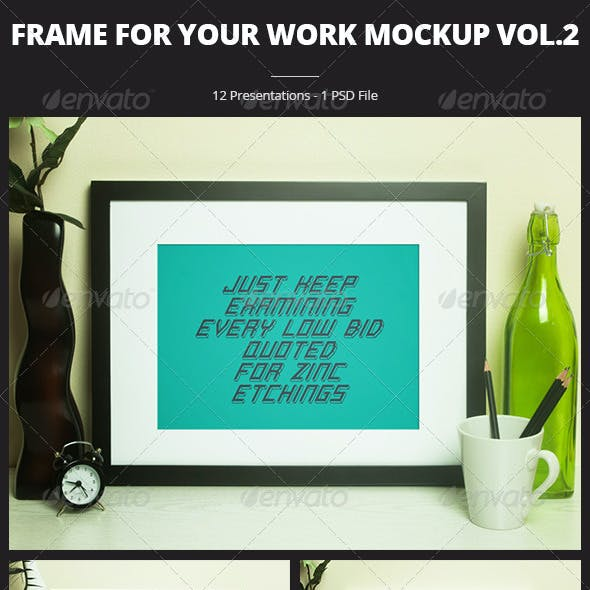 Frame For Your Work vol.2