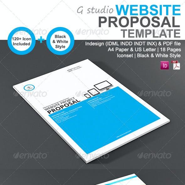 Gstudio Website Proposal Template