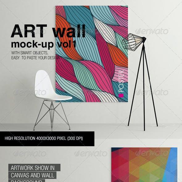 Art Wall Mock-up Vol.1