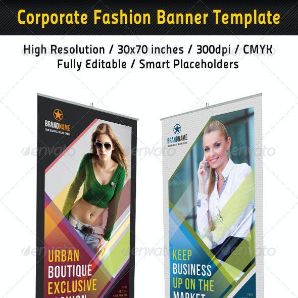Corporate Fashion Banner Template 02