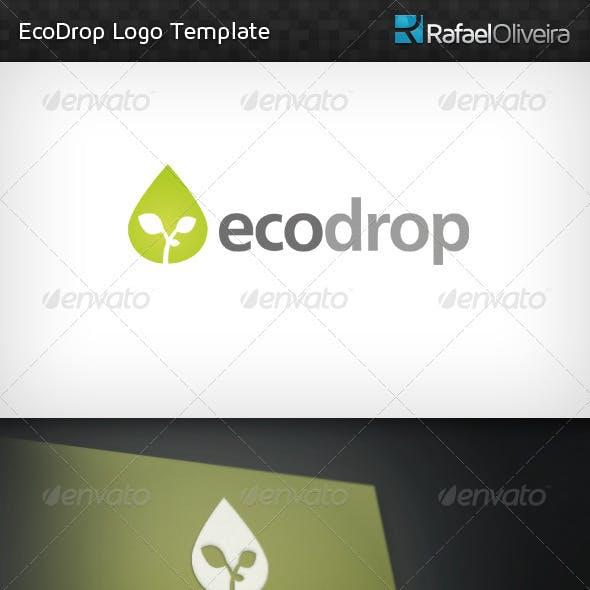 Ecodrop Logo Template