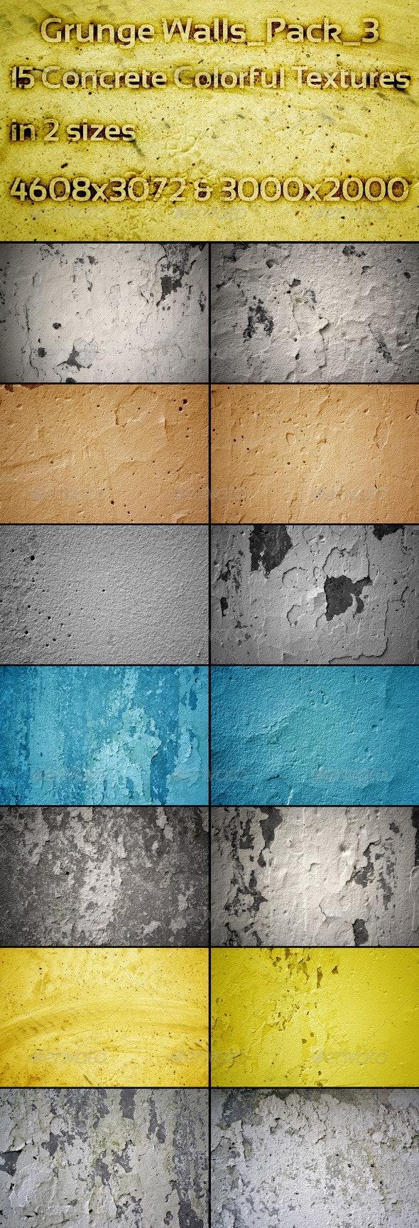 Grunge Walls_Pack_3 - Concrete Textures
