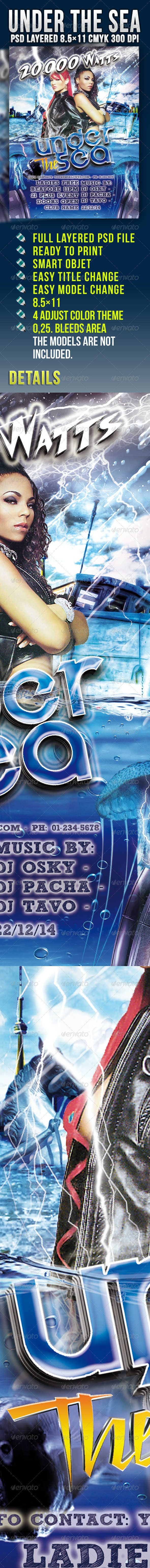 Under The Sea - Clubs & Parties Events