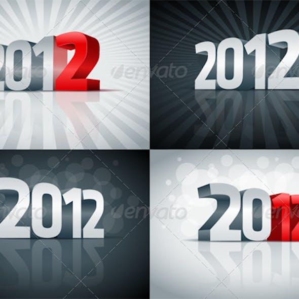3D 2012 set.