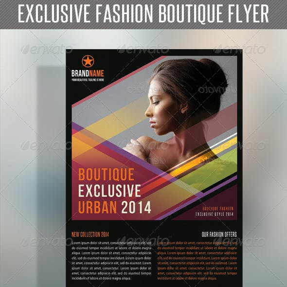 Fashion Product Flyer 23