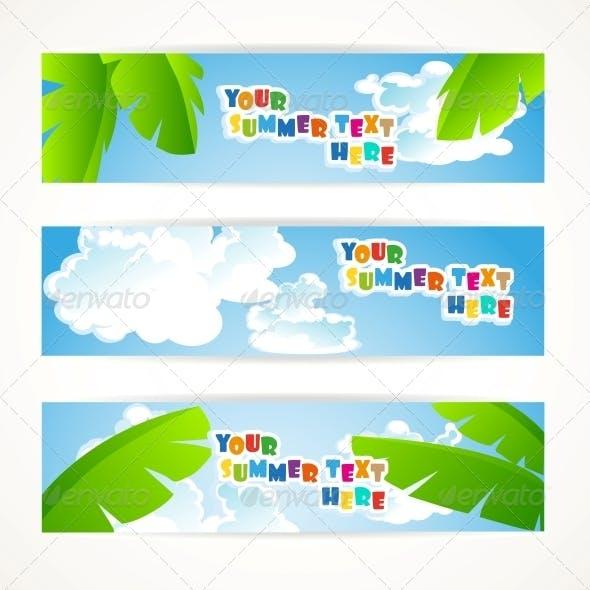 Sunny Summer Banner