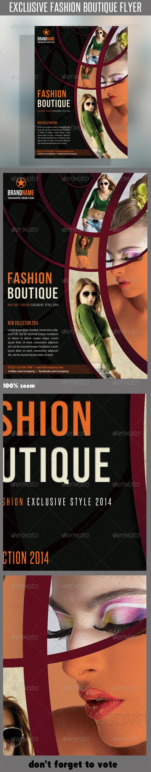 Fashion Product Flyer 24 - Commerce Flyers