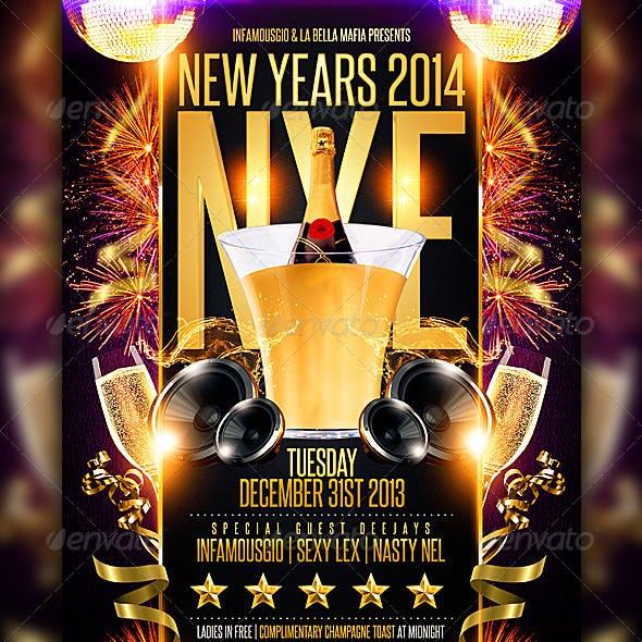 New Years 2014 NYE