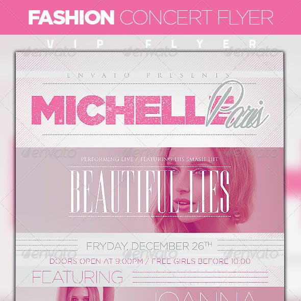 Fashion Concert Flyer