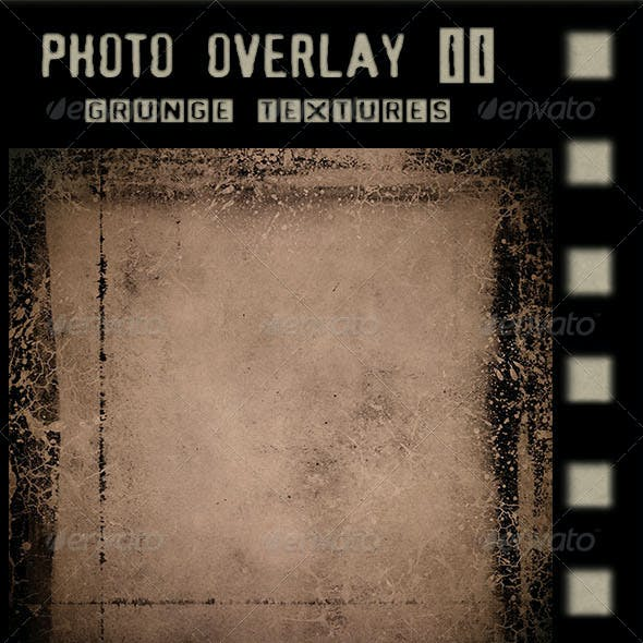 Photo Overlay Grunge Textures