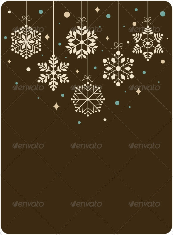 Snowflakes Background  - Christmas Seasons/Holidays
