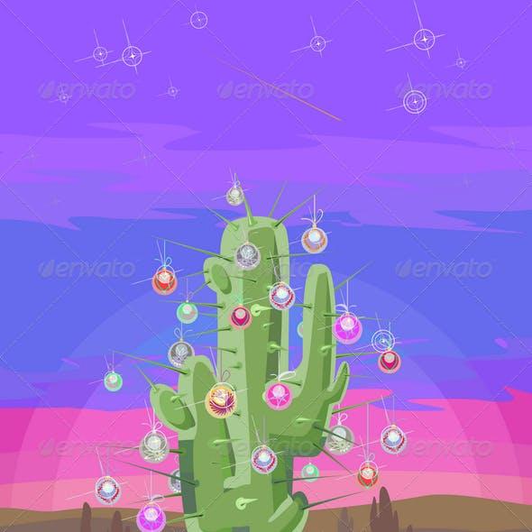 New Year Cactus