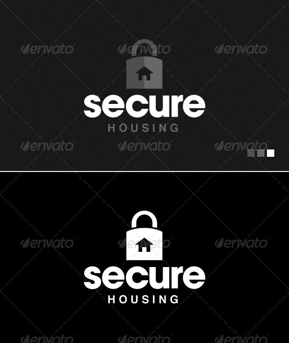 Secure Housing - Logo Template - Symbols Logo Templates