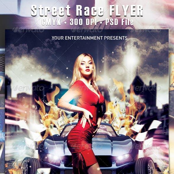 Street Race Flyer