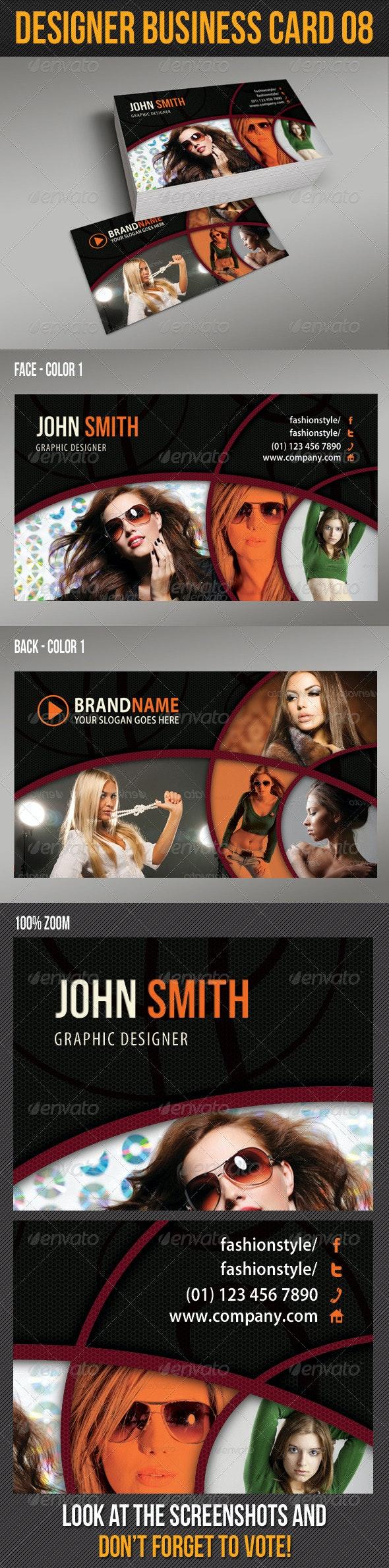 Designer Business Card 08 - Creative Business Cards
