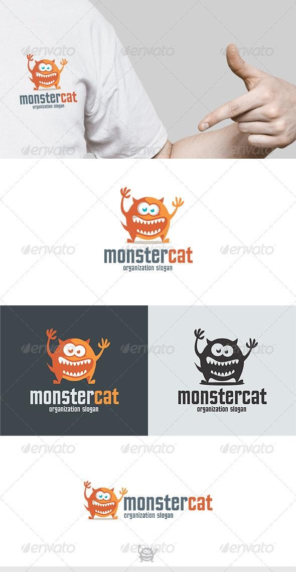 Monster Cat Logo