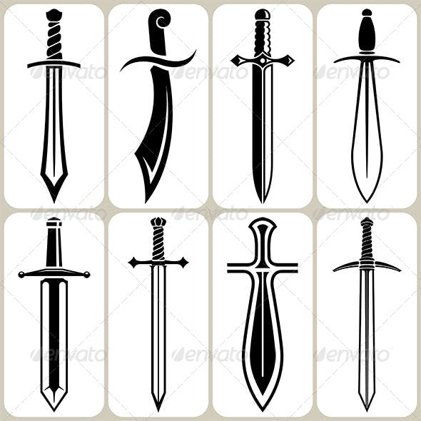Sword Icons Set