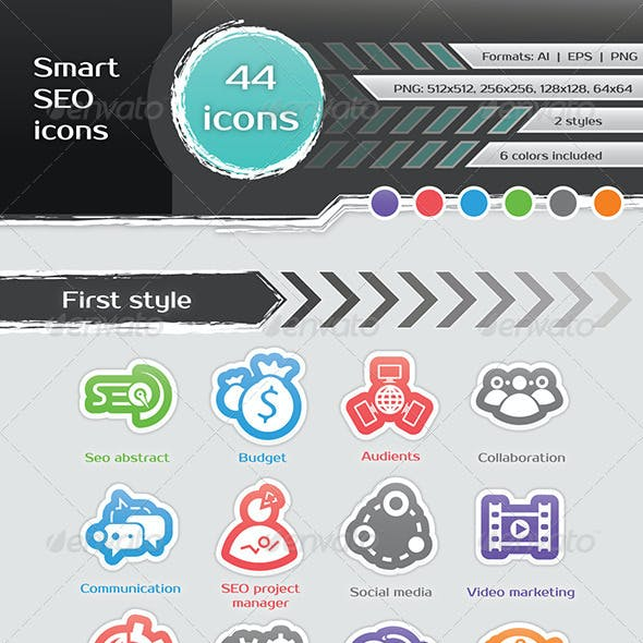 Smart SEO Icons