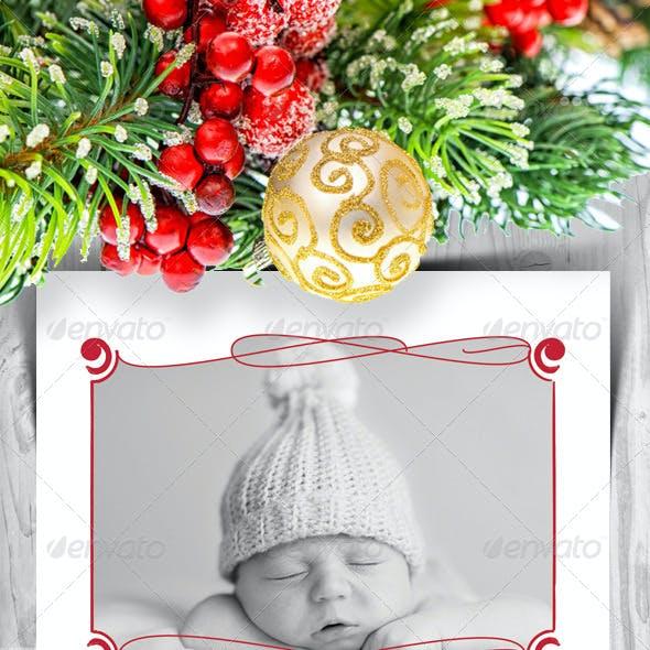 Modern Christmas Card V6