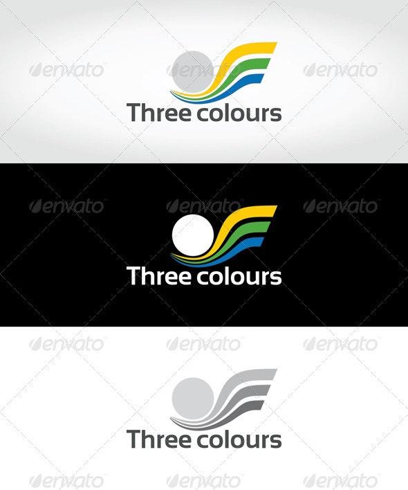 Three colours - Symbols Logo Templates