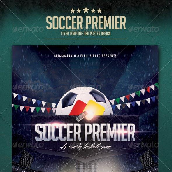 Soccer Premier Flyer Template