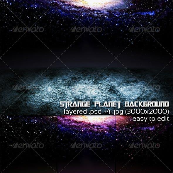 Strange Planet Background