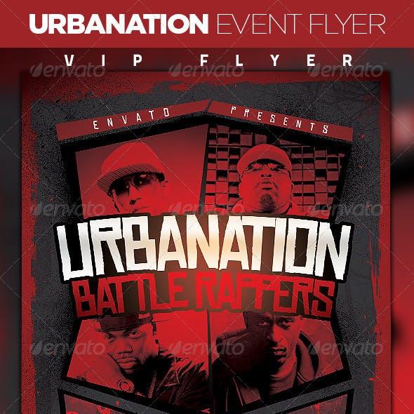 Urbanation Event Flyer