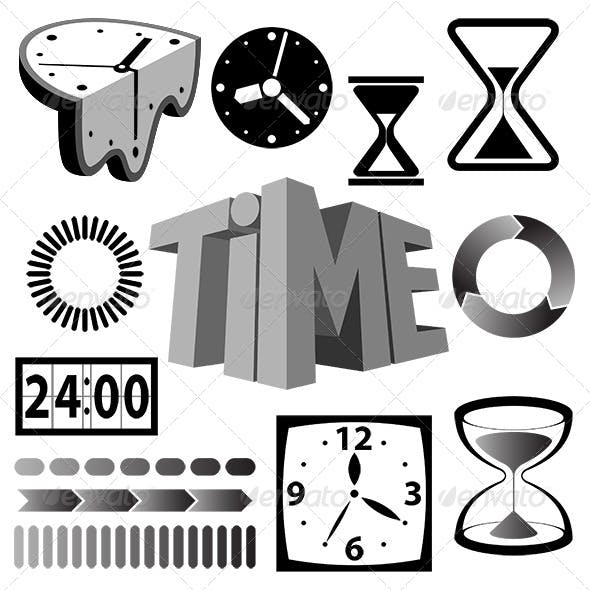 Time Icons and Signs