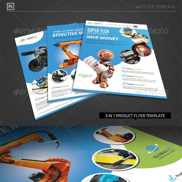 Product Showcase Corporate Flyer