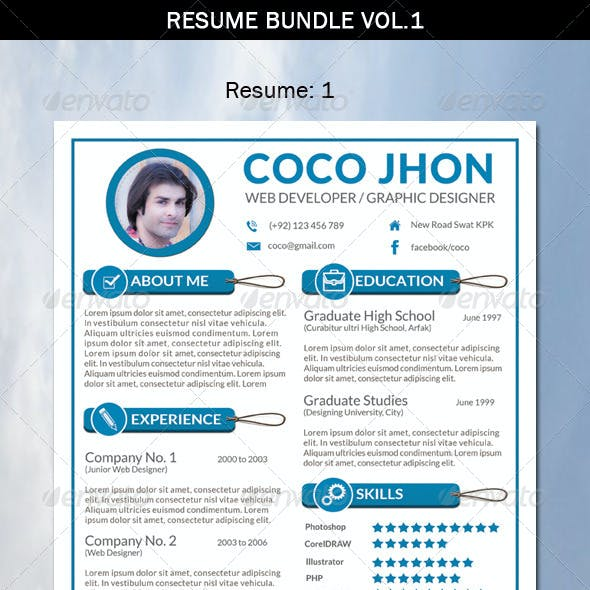 Resume Bundle Vol.1