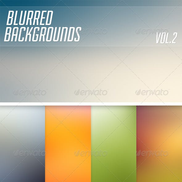 Blurred Backgrounds Vol2