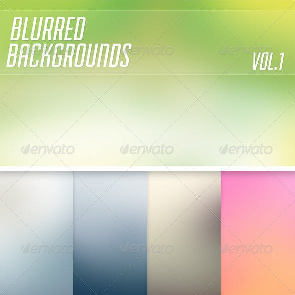 Blurred Backgrounds Vol1