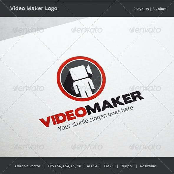 Video Maker Logo